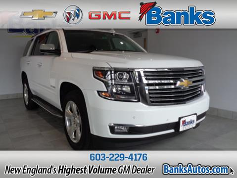 2016 Chevrolet Tahoe for sale in Concord, NH