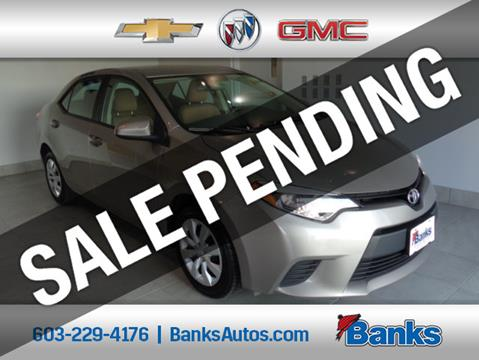 2014 Toyota Corolla for sale in Concord, NH