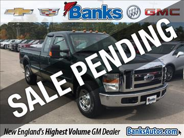 2008 Ford F-250 Super Duty for sale in Concord, NH