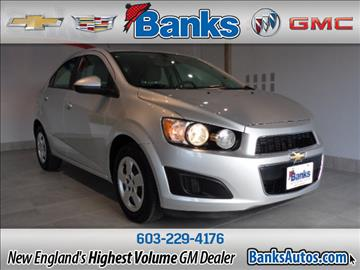 2014 Chevrolet Sonic for sale in Concord, NH