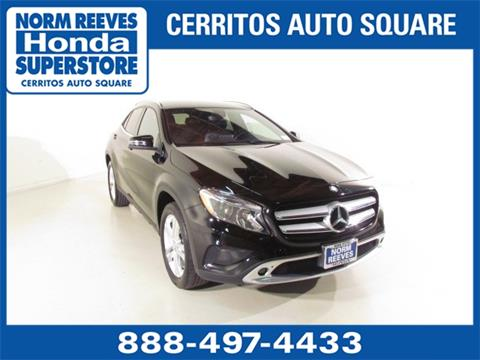 2016 Mercedes-Benz GLA for sale in Cerritos, CA