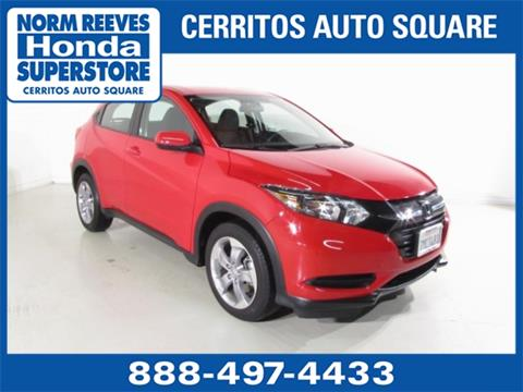 2017 Honda HR-V for sale in Cerritos, CA