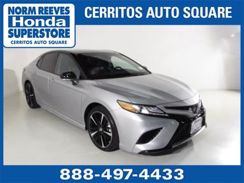 2018 Toyota Camry for sale in Cerritos, CA