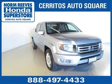 2013 Honda Ridgeline for sale in Cerritos, CA