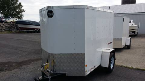 2017 Wells Cargo 5 x 8 V-Nose