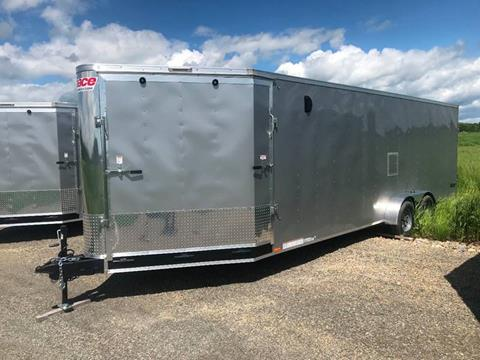 2019 Pace American 7x27 Dual Axle Dual Ramp Nose for sale in La Fargeville, NY