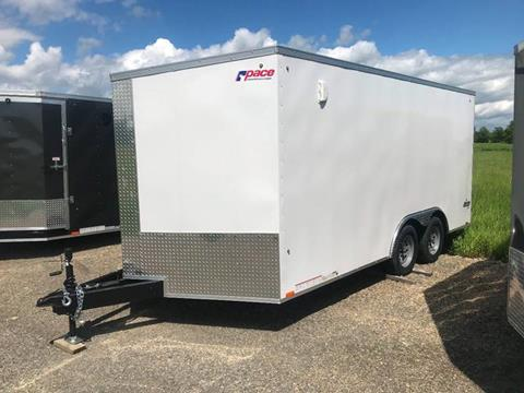 2019 Pace American 8.5x16 V-Nose Dual Axle for sale in La Fargeville, NY