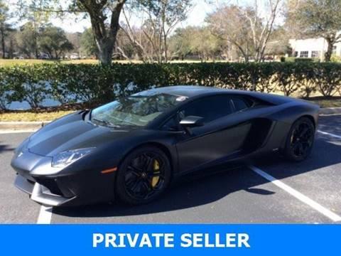 Used Lamborghini Aventador For Sale In Buffalo Ny Carsforsale Com