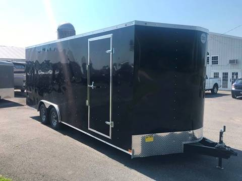 2019 Wells Cargo 8.5x20 V-Nose Dual Axle  for sale in La Fargeville, NY