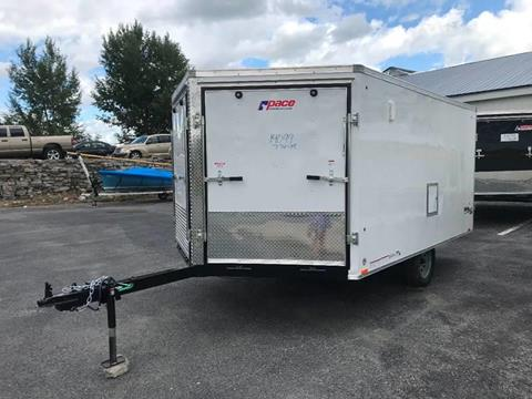 2020 Pace American 8.5x12 V-Nose Single Axle for sale at Forkey Auto & Trailer Sales in La Fargeville NY