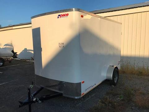 2020 Pace American 6x12 Single Axle Flat Front for sale at Forkey Auto & Trailer Sales in La Fargeville NY