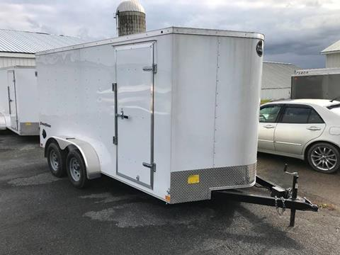 2019 Wells Cargo 7x14 V-Nose Dual Axle for sale in La Fargeville, NY