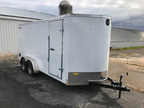 2020 Wells Cargo 7x16 V-Nose Dual Axle for sale in La Fargeville, NY