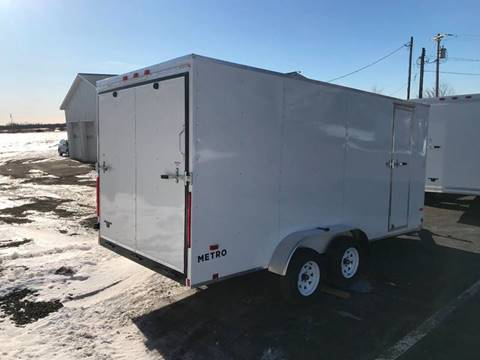 2020 Pace American 7x16 V-Nose Dual Axle for sale in La Fargeville, NY