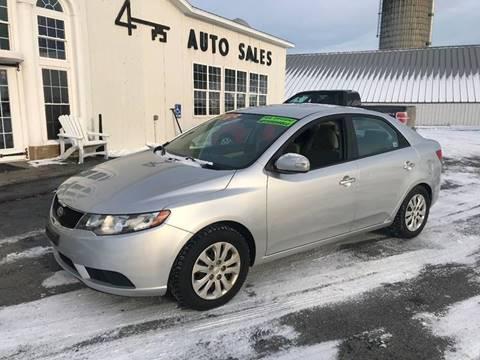2010 Kia Forte for sale at Forkey Auto & Trailer Sales in La Fargeville NY