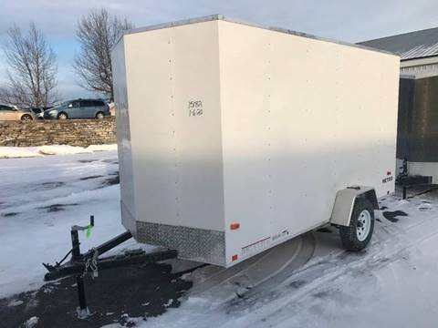 2021 Pace American 6x12 Wedge-Nose Single Axle for sale at Forkey Auto & Trailer Sales in La Fargeville NY