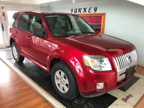 2009 Mercury Mariner for sale at Forkey Auto & Trailer Sales in La Fargeville NY