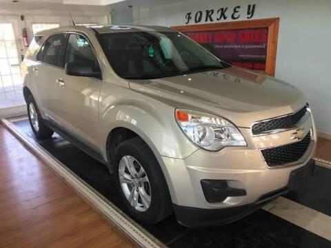 2012 Chevrolet Equinox for sale at Forkey Auto & Trailer Sales in La Fargeville NY