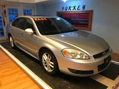 2010 Chevrolet Impala for sale at Forkey Auto & Trailer Sales in La Fargeville NY