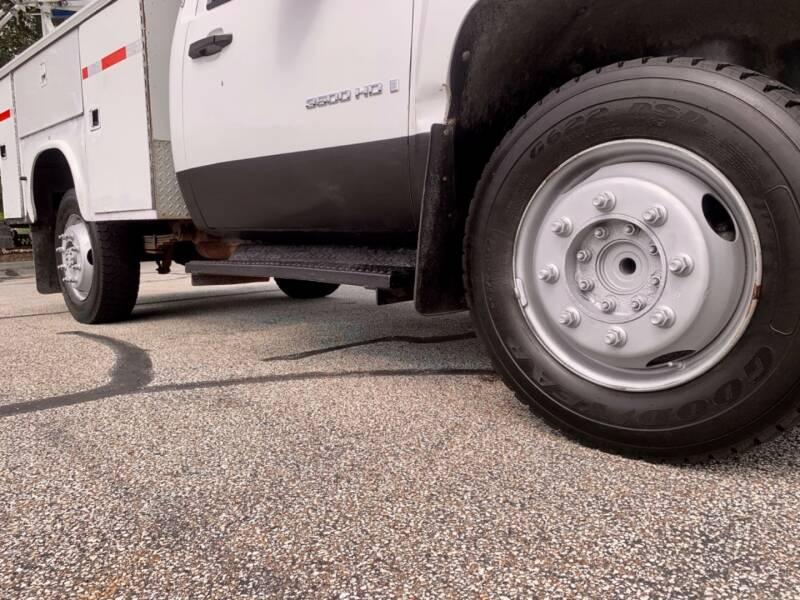 2009 Chevrolet Silverado 3500HD 4x2 Work Truck 2dr Regular Cab w/ZW9 Box Delete SRW - Akron OH