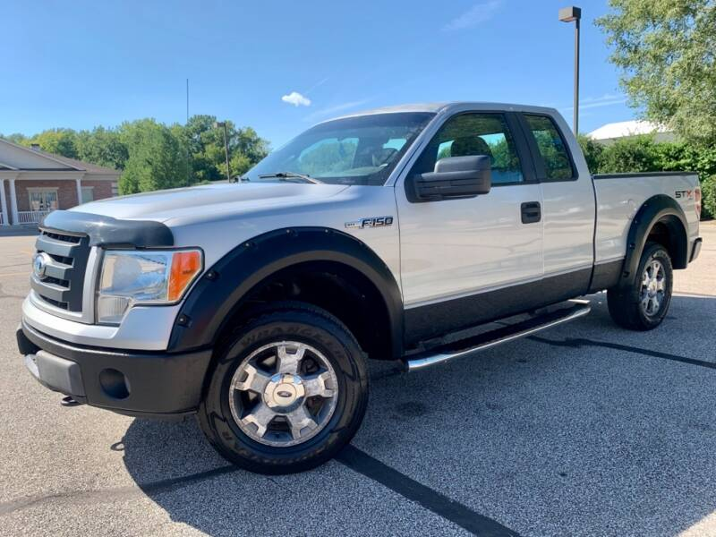 2009 Ford F-150 4X4 SuperCAB SXT 4.6L V8 ENGINE SHORT BED - Akron OH