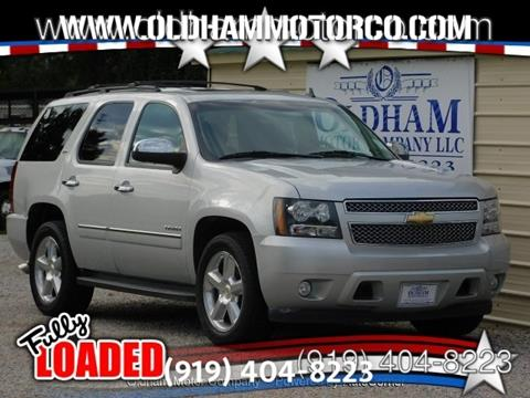 2011 Chevrolet Tahoe for sale in Zebulon, NC