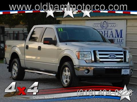 2011 Ford F-150 for sale in Zebulon, NC