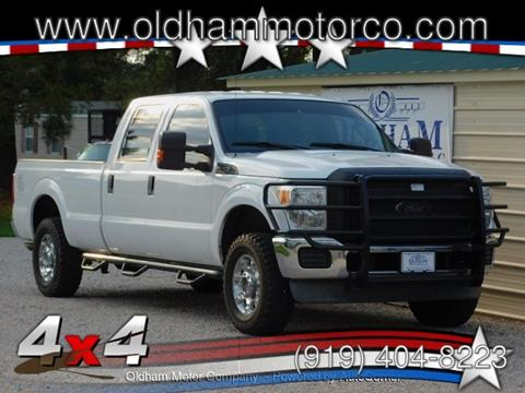 2012 Ford F-250 Super Duty for sale in Zebulon, NC