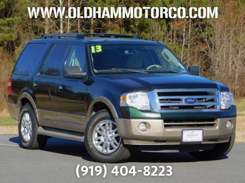 2013 Ford Expedition for sale in Zebulon, NC