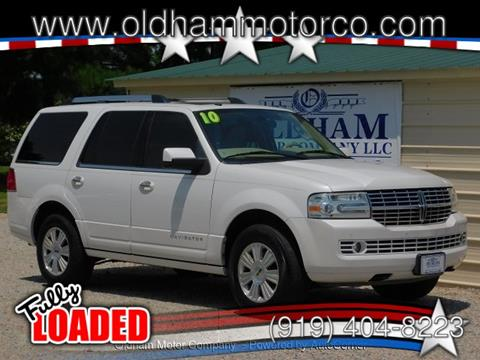 2010 Lincoln Navigator for sale in Zebulon, NC