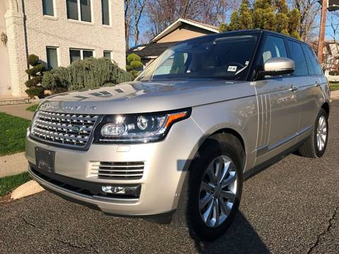 2016 Land Rover Range Rover for sale at MAGIC AUTO SALES in Little Ferry NJ