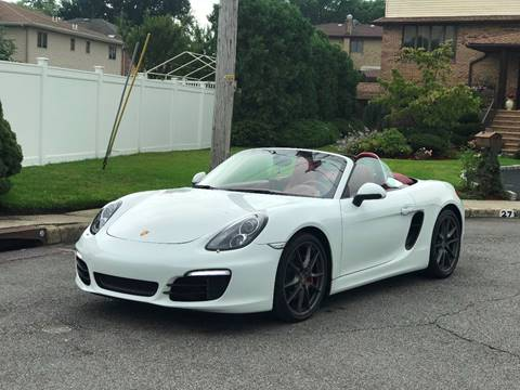 2013 Porsche Boxster for sale at MAGIC AUTO SALES in Little Ferry NJ