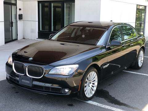 2011 BMW 7 Series for sale at MAGIC AUTO SALES in Little Ferry NJ