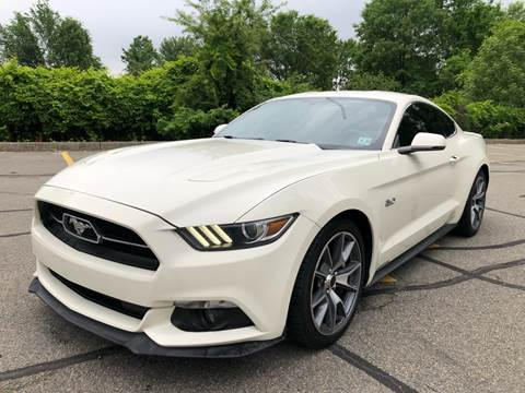 2015 Ford Mustang for sale at MAGIC AUTO SALES in Little Ferry NJ