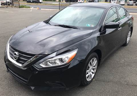 2016 Nissan Altima for sale at MAGIC AUTO SALES in Little Ferry NJ