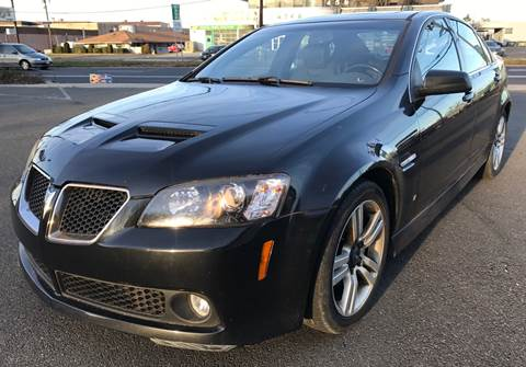 2008 Pontiac G8 for sale at MAGIC AUTO SALES in Little Ferry NJ