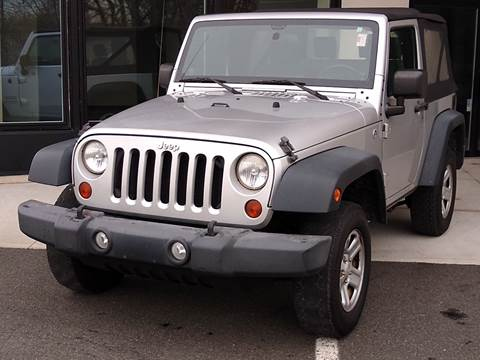 2010 Jeep Wrangler for sale at MAGIC AUTO SALES in Little Ferry NJ