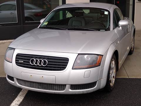2002 Audi TT for sale at MAGIC AUTO SALES in Little Ferry NJ