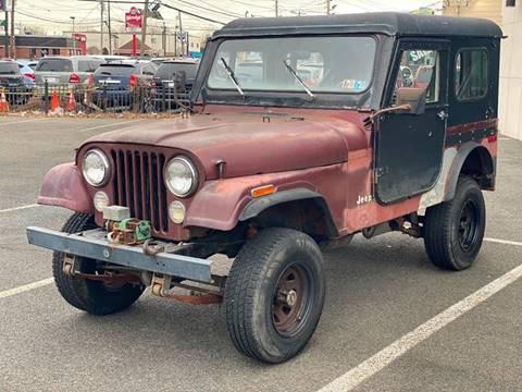 1979 Jeep CJ-7 for sale at MAGIC AUTO SALES in Little Ferry NJ