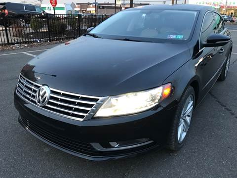 2013 Volkswagen CC for sale at MAGIC AUTO SALES in Little Ferry NJ