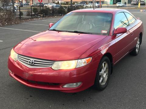 2002 Toyota Camry Solara for sale at MAGIC AUTO SALES in Little Ferry NJ