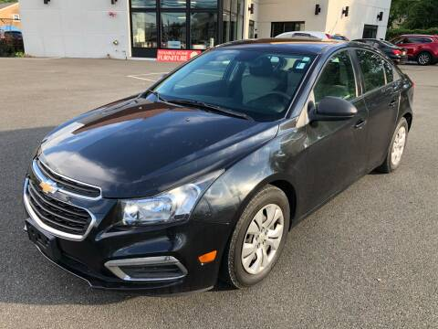 2016 Chevrolet Cruze Limited for sale at MAGIC AUTO SALES in Little Ferry NJ