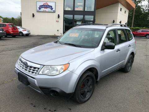 2012 Subaru Forester for sale at MAGIC AUTO SALES in Little Ferry NJ