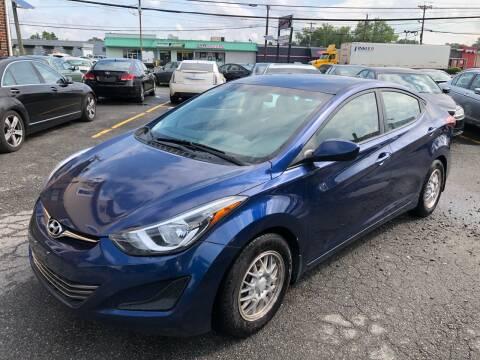 2016 Hyundai Elantra for sale at MAGIC AUTO SALES in Little Ferry NJ