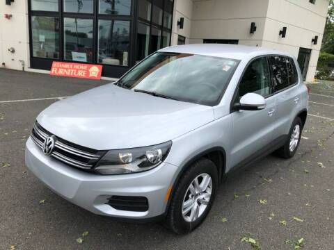 2013 Volkswagen Tiguan for sale at MAGIC AUTO SALES in Little Ferry NJ