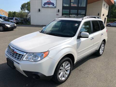 2013 Subaru Forester for sale at MAGIC AUTO SALES in Little Ferry NJ