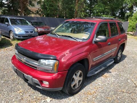 2002 Chevrolet TrailBlazer for sale at MAGIC AUTO SALES in Little Ferry NJ