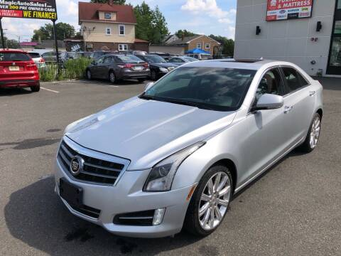 2014 Cadillac ATS for sale at MAGIC AUTO SALES in Little Ferry NJ