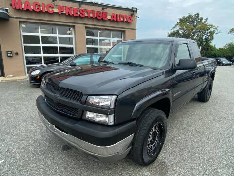 2003 Chevrolet Silverado 2500HD for sale at MAGIC AUTO SALES - Magic Auto Prestige in South Hackensack NJ