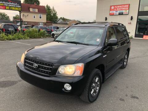 2003 Toyota Highlander for sale at MAGIC AUTO SALES in Little Ferry NJ
